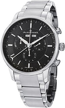 Alexander Statesman Chieftain Men's Multi-function Chronograph Black Dial Stainless Steel Swiss Made Watch A101B-02