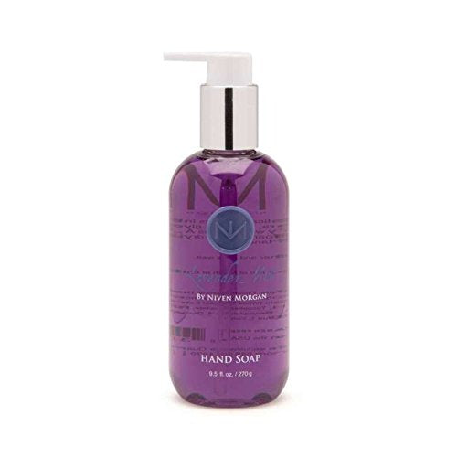 Niven Morgan Lavender Mint Hand Soap, 9.5 oz.