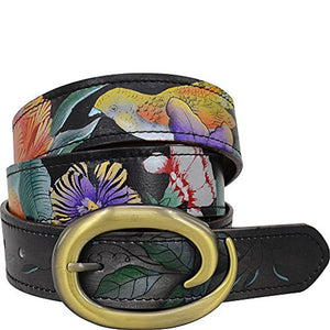 Anuschka Women's Handpainted Leather Belt