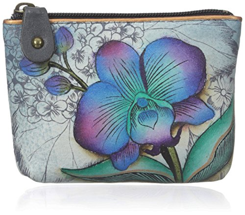 Anuschka Women's Handpainted Leather Pouch Coin Purse