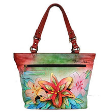 Anuschka Genuine Leather Hand Painted Classic Large Tote