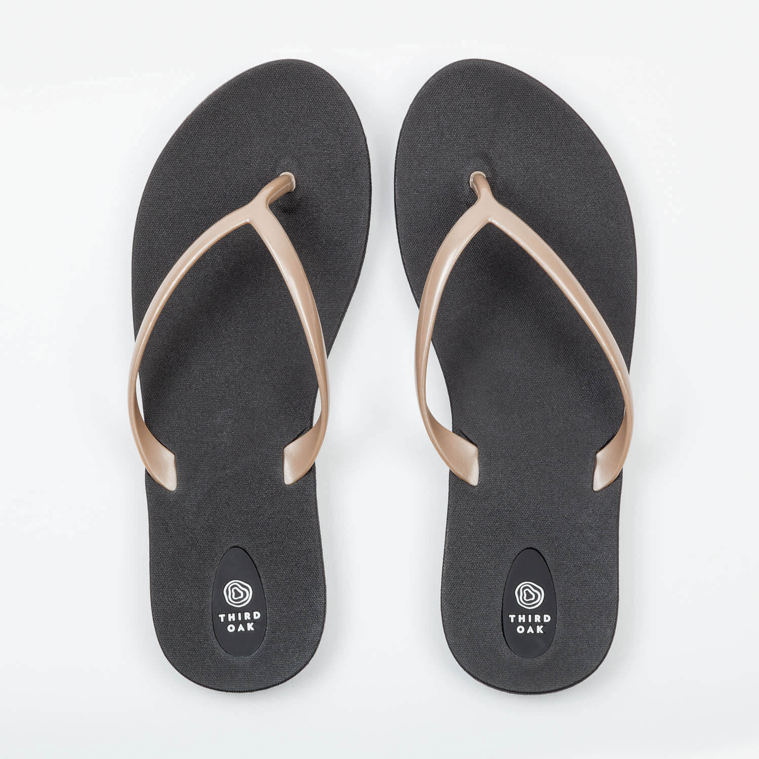 518bb41fa48 Scout Black and Gold Women s Flip Flops