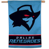 Dallas Renegades 28x40 Vertical Flag