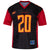 Los Angeles Wildcats Sub Replica #20 Jersey