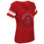 Houston Roughnecks Ladies First Pick V-Neck T-Shirt