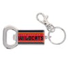 Los Angeles Wildcats Bottle Opener Key Chain