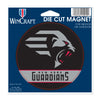 New York Guardians 5x5 Die Cut Magnet