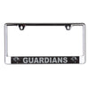 New York Guardians Laser Cut Acrylic License Plate Frame