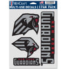 New York Guardians 3 Fan Pack Multi-Use Decals
