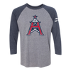 Houston Roughnecks 3/4 Sleeve Raglan