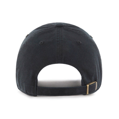 St. Louis BattleHawks '47 Clean Up Black Tonal Hat