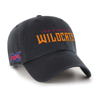 Los Angeles Wildcats '47 Clean Up Script Hat