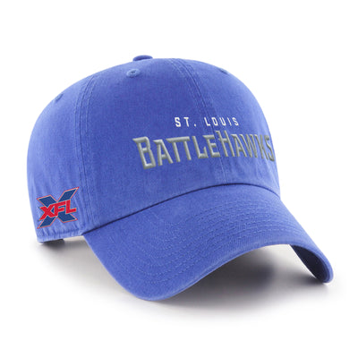 St. Louis BattleHawks '47 Clean Up Script Hat
