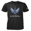 St. Louis BattleHawks Official Team Logo Black T-Shirt