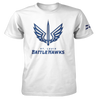 St. Louis BattleHawks Official Team Logo White T-Shirt