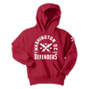 DC Defenders Youth Est. 2020 Arch Pullover Hood