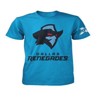 Dallas Renegades Youth Logo T-Shirt