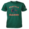 Seattle Dragons Arch Logo T-Shirt