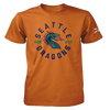 Seattle Dragons Est. 2020 Circle Logo T-Shirt