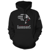 New York Guardians Logo Pullover Hood
