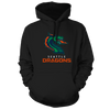 Seattle Dragons Logo Pullover Hood