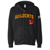 Los Angeles Wildcats Full Zip Sweatshirt