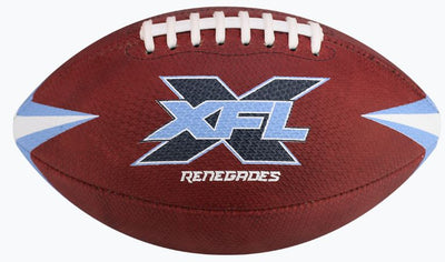 Dallas Renegades Authentic Game Football