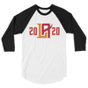 Los Angeles Wildcats Inaugural 2020 Raglan 3/4 Sleeve Shirt