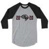 New York Guardians Inaugural 2020 Raglan 3/4 Sleeve Shirt