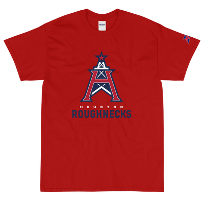 Houston Roughnecks Official Logo Classic Fit (up to 5XL) T-Shirt