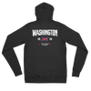 Washington, D.C. Official XFL Lightweight Zip Hoodie