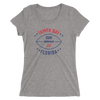Tampa Bay Official XFL Football Women's Tri-Blend T-Shirt