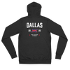 Dallas Official XFL Lightweight Zip Hoodie