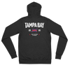 Tampa Bay Official XFL Lightweight Zip Hoodie