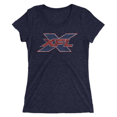 XFL Women's Distressed Logo T-shirt