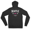 Seattle Official XFL Lightweight Zip Hoodie