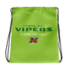 Tampa Bay Vipers Official Logo Drawstring Bag