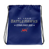 St. Louis BattleHawks Official Logo Drawstring Bag