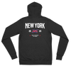 New York Official XFL Lightweight Zip Hoodie