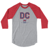 Washington, D.C. Official XFL Raglan 3/4 Sleeve Shirt