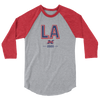 Los Angeles Official XFL Raglan 3/4 Sleeve Shirt