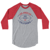 Los Angeles Official XFL Football Raglan 3/4 Sleeve Shirt