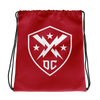 DC Defenders Official Logo Drawstring Bag