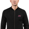 XFL Embroidered Bomber Jacket
