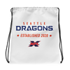 Seattle Dragons Official Logo Drawstring Bag
