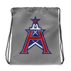 Houston Roughnecks Official Logo Drawstring Bag