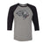 New York Guardians Logo 3/4 Sleeve Raglan