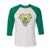 Tampa Bay Vipers Logo 3/4 Sleeve Raglan