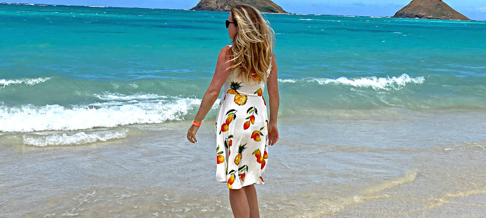 women's clothing summer dress sunkissed