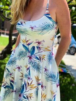 women's clothing summer dress Sundress Hawaii Resort Wear